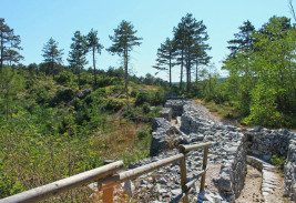 percorso storico del Brestovec