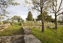 Cimitero a Gorjansko / Pokopališče v Gorjanskem / Gorjansko cemetery / Gorjansko Friedhof