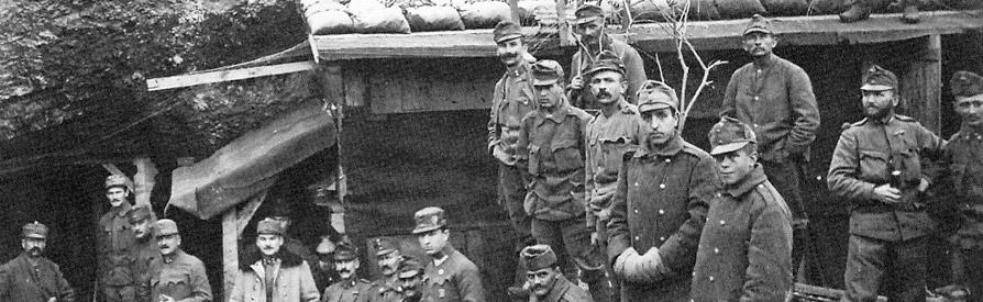Sezione Prima Guerra Mondiale